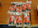 (RWALL) LOT OF UTILITECH CABLE TIES; 9 PACKS OF [100] 4