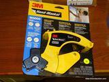 (R1) 3M HAND-MASKER FILM & TAPE DISPENSER FOR FAST & FLEXIBLE PAINT MASKING. MODEL NO. M3000.