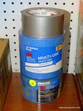 (RWALL) LOT OF ASSORTED TAPE; 3 PIECE LOT TO INCLUDE A ROLL OF DUCT TAPE, A 2-PACK OF 3M