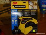 (RWALL) 3M HAND-MASKER FILM & TAPE DISPENSER FOR FAST & FLEXIBLE PAINT MASKING. MODEL NO. M3000.