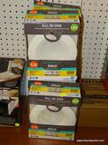 (RWALL) HALO RECESSED DOWNLIGHTS - NEUTRAL WHITE; 5 PIECE LOT OF 5