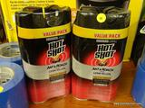 (RWALL) LOT OF [4] HOT SHOT ANT & ROACH KILLER SPRAY BOTTLES WITH GERM KILLER AND A FRESH FLORAL