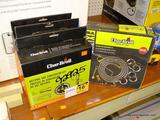 (RWALL) 4 PIECE LOT OF CHAR-BROIL, DUAL FUEL NATURAL GAS CONVERSION KITS. COMES IN OPENED BOXES.
