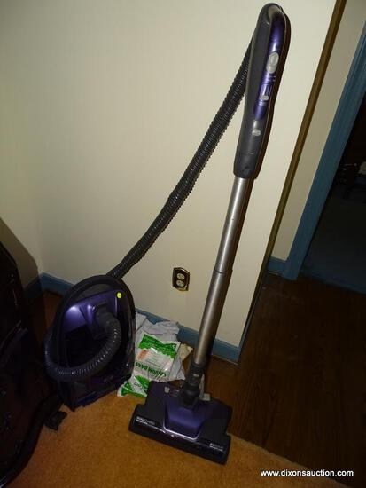 (LR) VACUUM; KENMORE CANISTER VACUUM WITH EXTRA BAGS