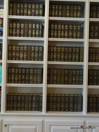 (LIBRARY) 13 SHELVES OF 1 SERIES OF CIVIL WAR BOOKS; 53+ ( HAS SOME DUPLICATES) VOLUMES OF SERIES 1