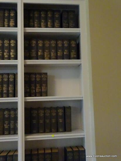 (LIBRARY) 2 SHELVES OF CIVIL WAR BOOKS; LOT INCLUDES- 3 SEPERATE VOLUMES OF THE WAR OF THE REBELLION