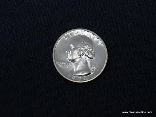 1974-S GEM PROOF WASHINGTON QUARTER.