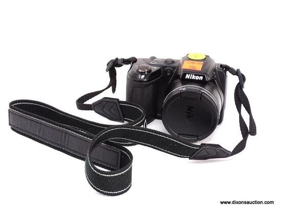 NIKON COOLPIX L310 14.1 MEGAPIXEL DIGITAL POINT AND SHOOT CAMERA. 21X WIDE ZOOM. TAKES DOUBLE A