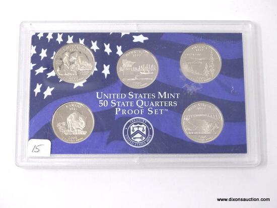 5 PROOF STATE QUARTERS
