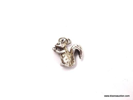 .925 STERLING SILVER LADIES SQUIRREL CHARM-CASTING