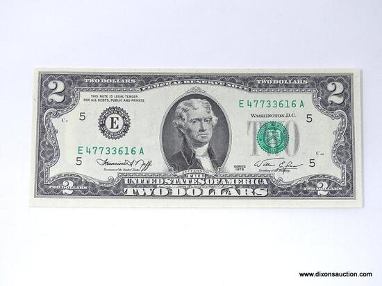 1976 TWO DOLLAR UNCIRCULATED NOTE
