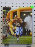 SIGNED REDSKINS PHOTOGRAPH; PHOTO IS OF AND IS SIGNED BY KORY LICHTENSTEIGER. IS AN 8 IN X 10 IN
