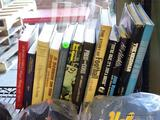 LOT OF SPORTS THEMED BOOKS; INCLUDES TITLES SUCH AS THE STORY OF FOOTBALL, A SEASON ON THE BRINK,