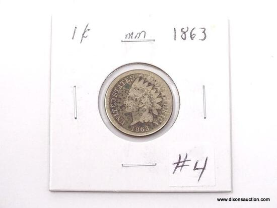 1863 INDIAN CENT.