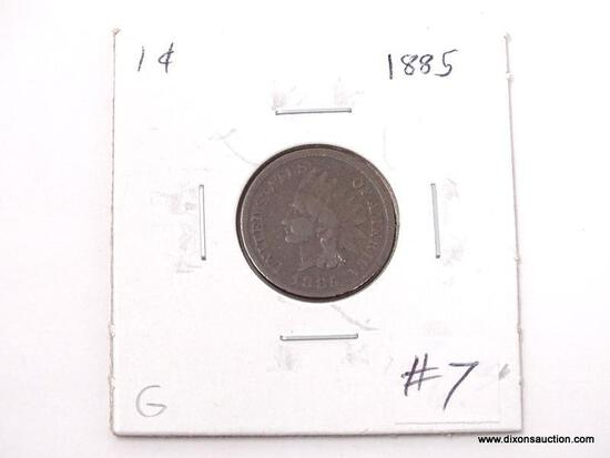 1885 INDIAN CENT.