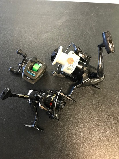 FISHING REELS - PREVIEW FOR CONDITION