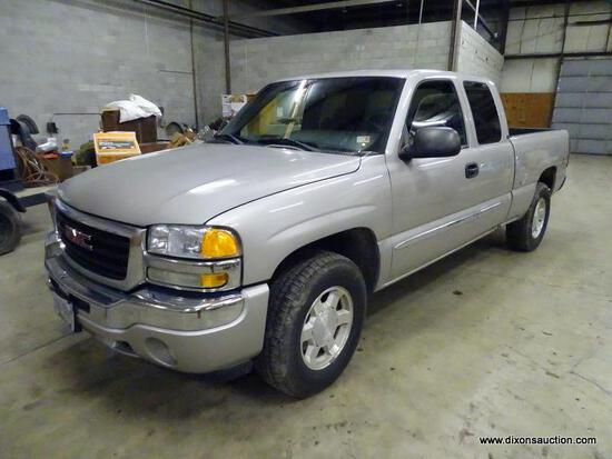 2005 GMC SIERRA 5.7 LITER Z71 PICKUP TRUCK WITH 314,099 MILES. CHAMPAGNE COLOR. MOTOR REBUILT A FEW