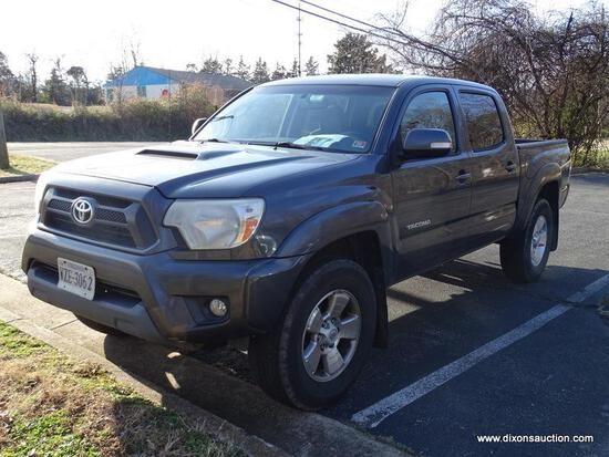 2012 TOYOTA TACOMA 4X4 PICKUP TRUCK. MILEAGE IS APPROX. 251,425. VERY GOOD CONDITION, CLEAN