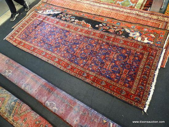 "IRAN FABRESE RUG. MEASURES 3'4"" X 9'10"""