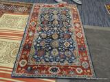 INDIA TUFTED RUG. MEASURES 4'11