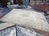 NEPALESE MODERN RUG.MEASURES 9' X 13'4
