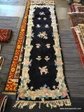 CHINDIA TUFTED RUG. MEASURES 2'6