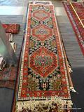 IRAN SARAB RUG. MEASURES 2'8