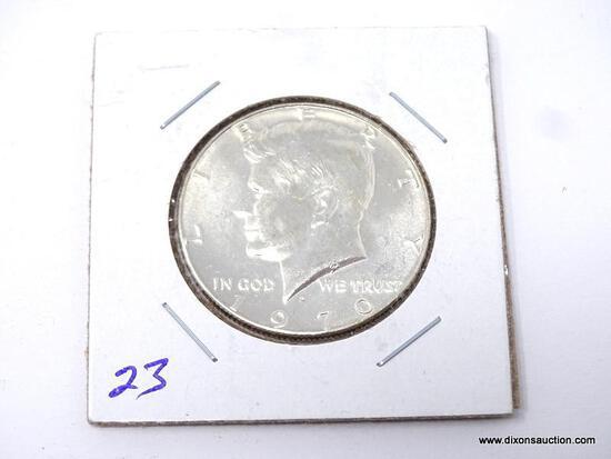 1970-D GEM UNCIRCULATED KENNEDY HALF DOLLAR-KEY DATE.