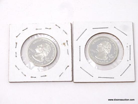(2) 2000 PROOF WASHINGTON QUARTERS.
