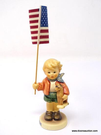 """GOEBEL HUMMEL """"LITTLE FLAG BEARER"""""""