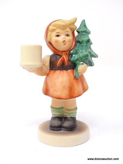 "GOEBEL HUMMEL ""GIRL WITH FIR TREE"""