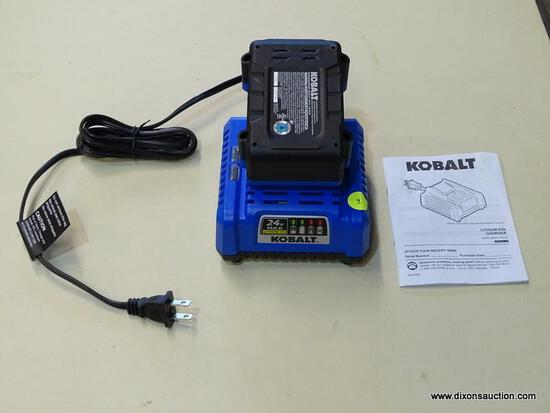 KOBALT BATTERY & CHARGER