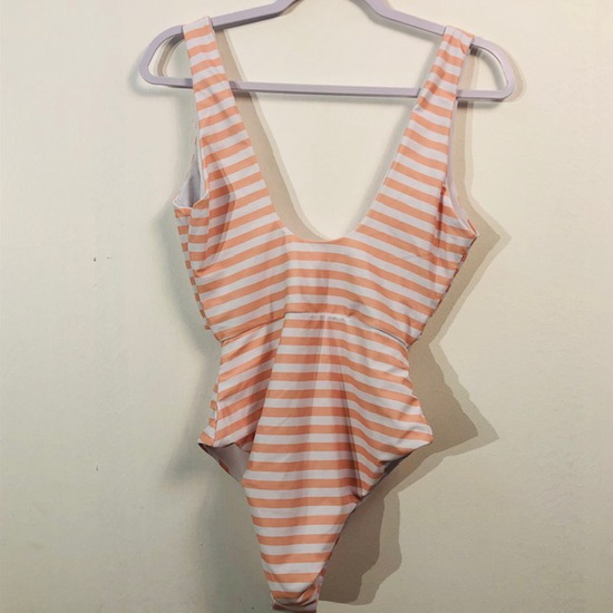 UNBRANDED ONE-PIECE SWIM SUIT WOMENS LARGE