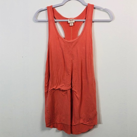 MOSSIMO SUPPLY CO TANK TOP PINK WOMENS XS