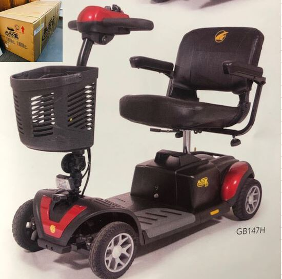 GOLDEN TECHNOLOGIES BUZZ AROUND MOBILITY SCOOTER MODEL GB147XLSHD LIST PRIC