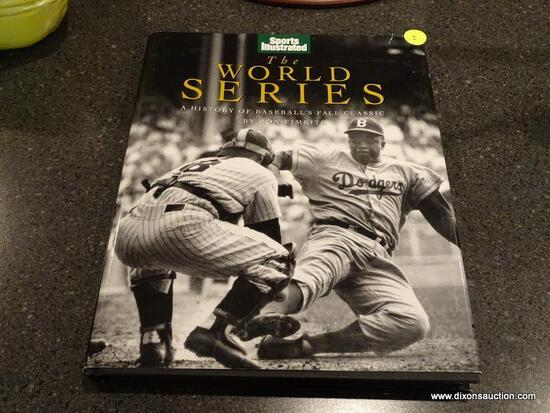 "(BAS) SPORTS ILLUSTRATED ""THE WORLD SERIES"" A HISTORY OF BASEBALL'S FALL CLASSIC BY RON FIMRITE. HAS"
