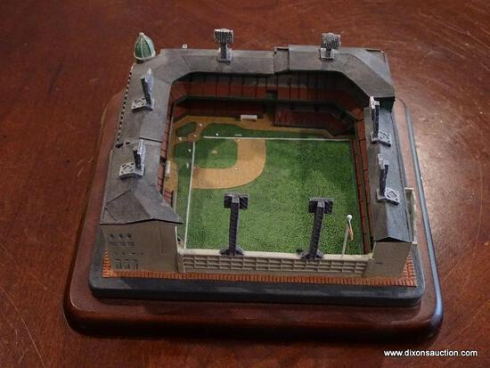 "(BAS) THE DANBURY MINT ""SHIBE PARK HOME OF THE PHILADELPHIA ATHLETICS AND PHILLIES"" STADIUM"
