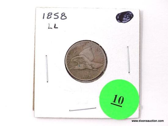 1858-LL Flying Eagle Cent