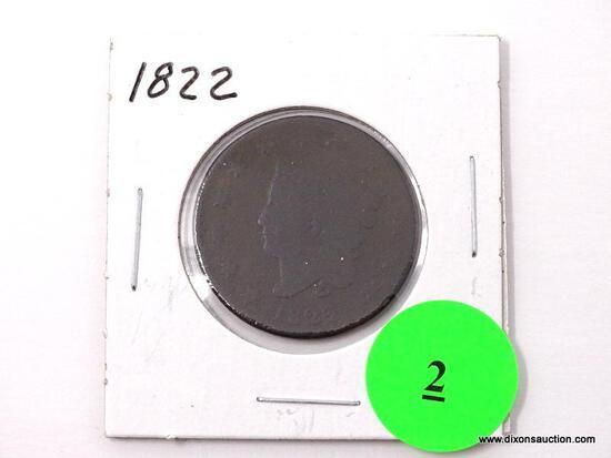 1822 Large Cent