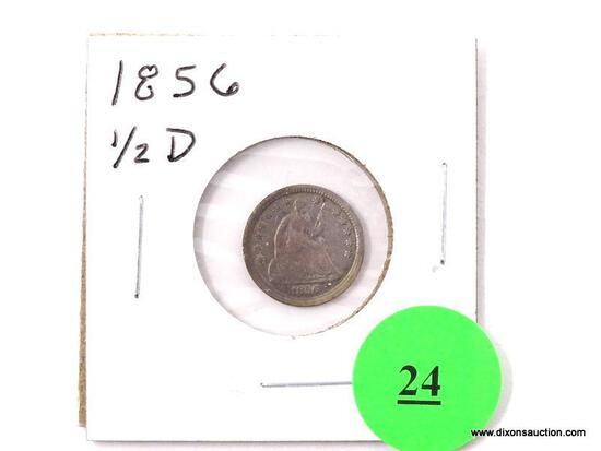 1856 Half Dime - Seated Liberty