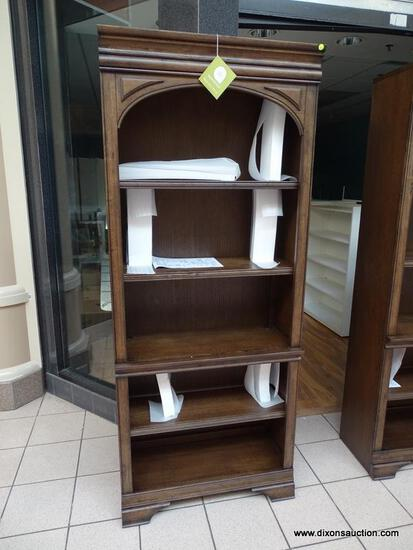 ASPENHOME HOME OFFICE OPEN BOOKCASE. #I92-333. QUALITY AND WORLD CLASS CRAFTSMANSHIP WAS AT THE