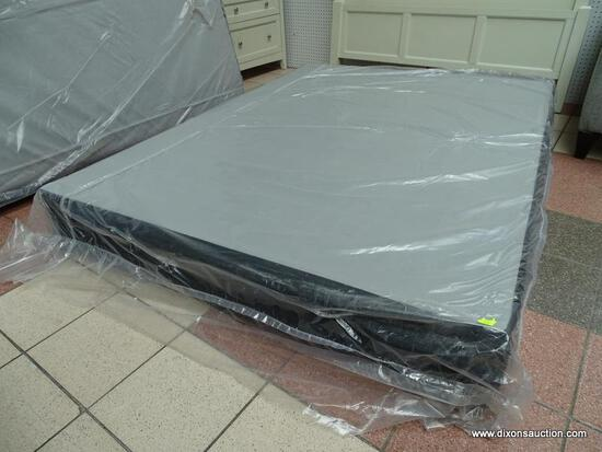 """12"""" QUEEN SIZE BOX SPRINGS IN PLASTIC. ITEM IS SOLD AS IS WHERE IS WITH NO GUARANTEES OR WARRANTY."""