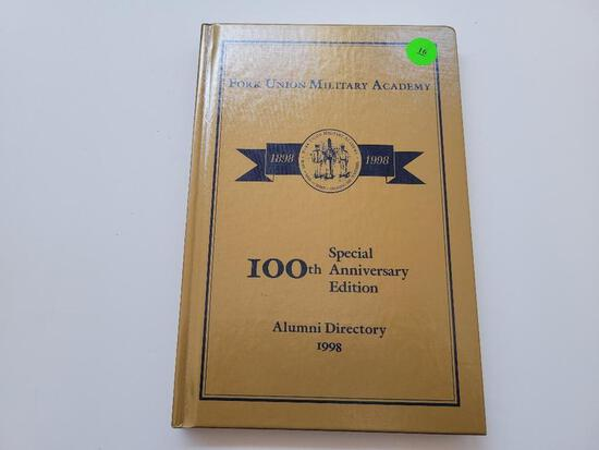 FORK UNION MILITARY ACADEMY 100TH ANNIVERSARY ALUMINI DIRECTORY (1998) - EXECELLENT CONDITION
