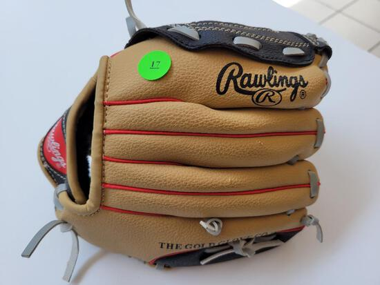 RAWLINGS CHILDS BASEBALL GLOVE - GOOD USED CONDITION
