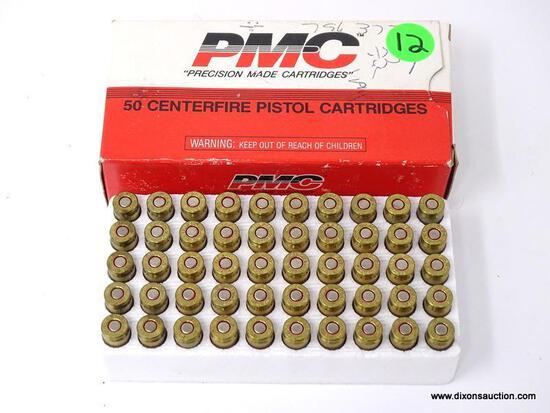 BOX OF 50 PMC .380 AUTO 90GR.