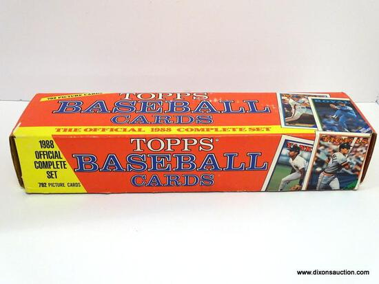 OFFICAL 1988 TOPPS BAEBALL CARDS INCLUDES PLAYERS SUCH AS GARY MATTHEWS, CHRIS BANDO, ECT. NOT A