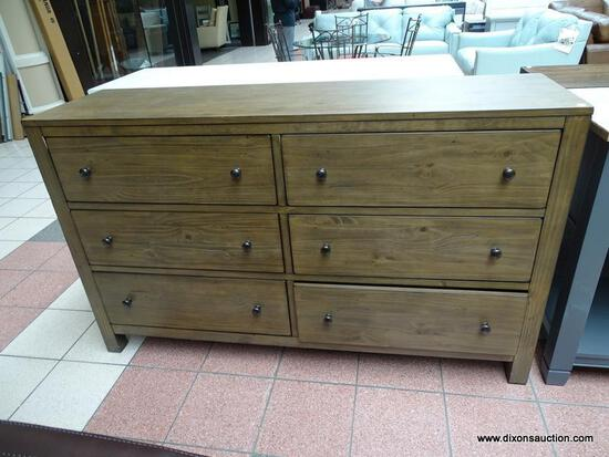 BRAND NEW TILDON 6 DRAWER DRESSER. THE TILDON BEDROOM COLLECTION BY ASPEN HOME WAS DESIGNED WITH YOU