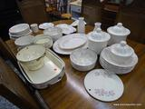 (R1) PFALZGRAFF LOT TO INCLUDE LIDDED CANNISTERS, MILK CONTAINERS, A COLANDER, SERVING PLATTERS,