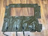 (S15O) MILITARY M151 M151A2 ARMY JEEP DOOR VINYL CURTAIN IN ORIGINAL BOXES