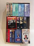 (S15O) MURDER MYSTERY CRIME THRILLER VHS COLLECTION TOMMY TUPPENCE, THE AVENGERS, THE SOPRANOS THE